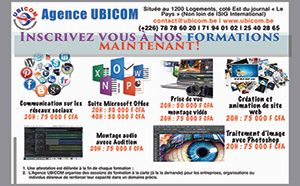 Inscriptions aux formations UBICOM 2016