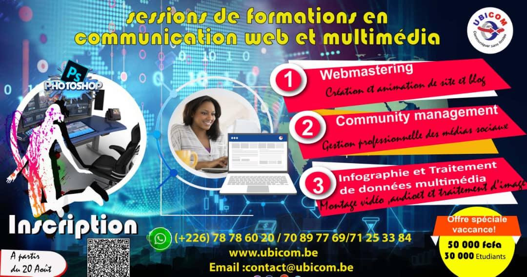 DES OFFRES DE FORMATION ET DE SERVICES SPECIALES UBICOM VACANCES 2018