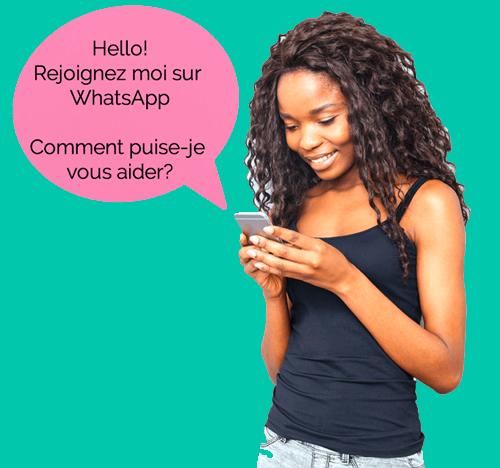 Retrouvez-nous sur WhatsApp !